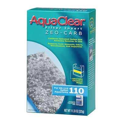 AquaClear 110 Zeo-Carb Aquarium Filter Insert