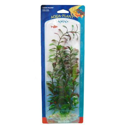 Ludwigia Red Large Plastic Aquarium Plant
