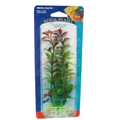 Ludwigia Red  Small Plastic Aquarium Plant