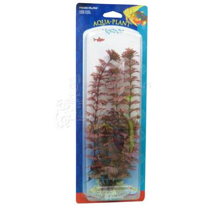 Ambulia Red Large Plastic Aquarium Plant