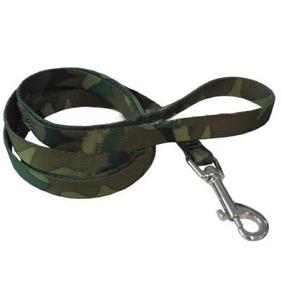 Guardian Gear Camouflage Green Dog Leash 6 feet x 5/8 inch