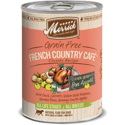 Merrick French Country Cafe Dog Food 12/Case