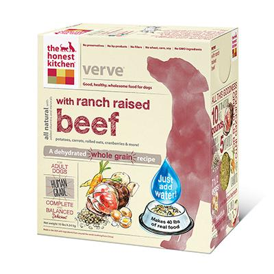 Honest Kitchen Verve Dehydrated RAW Dog Food 10 lb