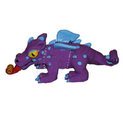 Latex Squeeze Meeze Dragon Jr Dog Toy