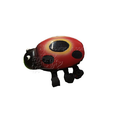 Latex Squeeze Meeze Ladybug Jr Dog Toy