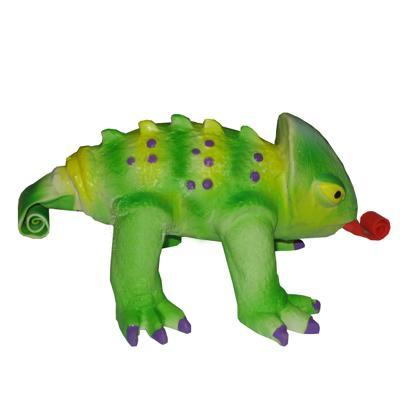 Latex Squeeze Meeze Chameleon Dog Toy