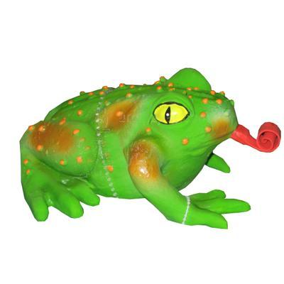 Latex Squeeze Meeze Frog Dog Toy