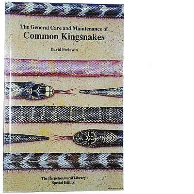 Common Kingsnakes General Care Book