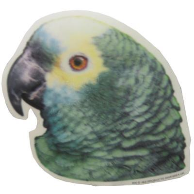 Double Sided Decal Blue Fronted Amazon Parrot
