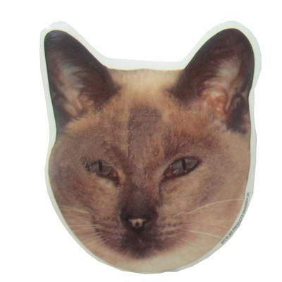 Double Sided Cat Decal Siamese