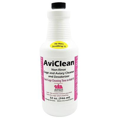 AviClean Non-Rinse Cage and Aviary Cleaner 32oz
