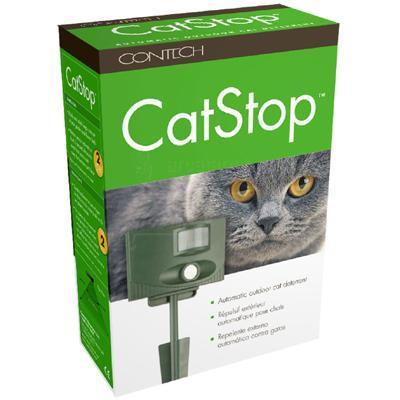 Amazon.com: Contech CatStop Ultrasonic Outdoor Cat Deterrent: Pet
