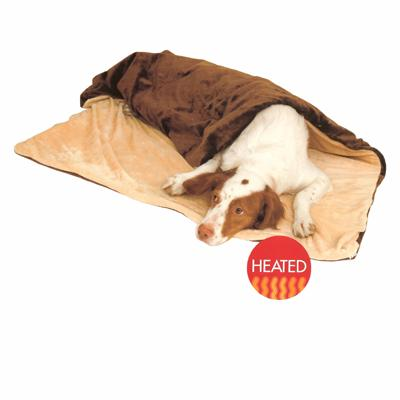 Thermo Heated Pet Throw Large 36in x 54in