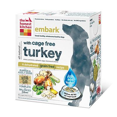 Honest Kitchen Embark Dehydrated RAW Dog Food  10 lb