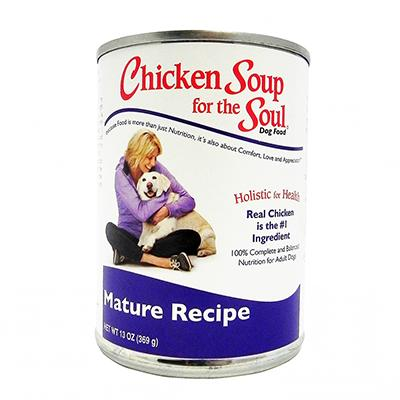Chicken Soup for the Dog Lovers Soul  Senior Cans Each 13 oz
