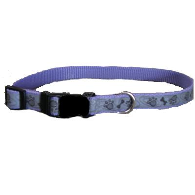 Lazer Brite PawBone Dog Collar Medium Reflective