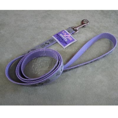 Lazer Brite PawBone Dog Lead 5/8-inch x 6-Foot Reflective