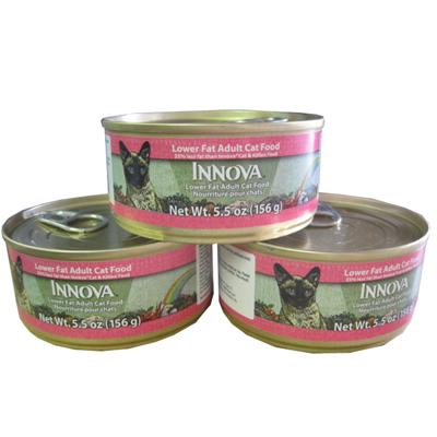Innova Feline Reduced Canned Cat Food 5.5 ounce 24 Case