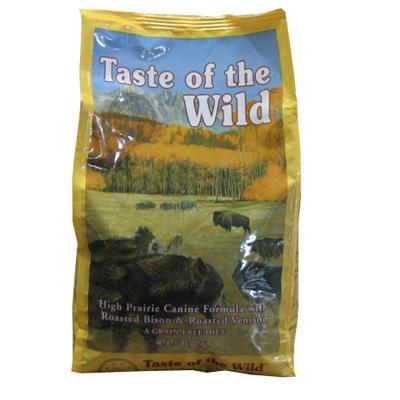 Taste of The Wild High Prairie Canine Formula Dog Food 5 lb