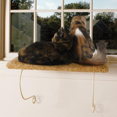 Meow Town Cat Carpeted Window Perch