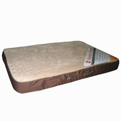 Memory Foam Sleeper Dog Bed Mocha Large