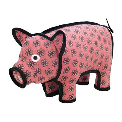Tuffy's Polly the Pig Dog Toy