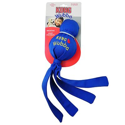 Kong Wubba Fabric and Rubber Dog Toy Large