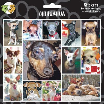 Arf Art Dog Sticker Pack Chihuahua