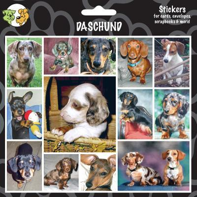 Arf Art Dog Sticker Pack Dachshund