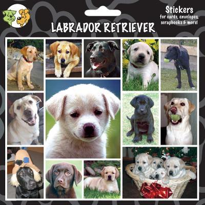 Arf Art Dog Sticker Pack Labrador Retriever