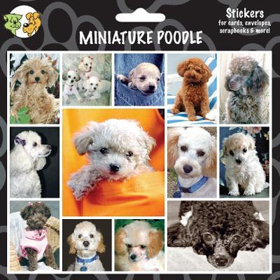Arf Art Dog Sticker Pack Miniature Poodle