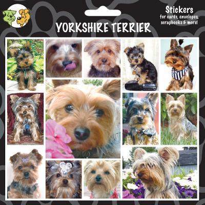 Arf Art Dog Sticker Pack Yorkshire Terrier