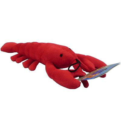 Velvet Plush Lobster Soft Dog Toy