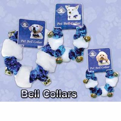 Holiday New Year's Hanukkah Bell Dog Collar Small