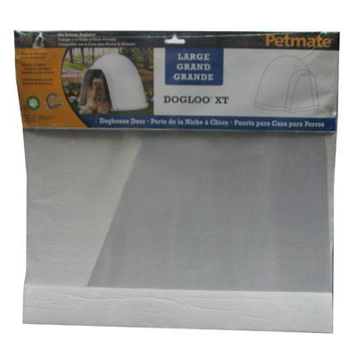 Frosted Plastic Door Flap for Large Dogloo and Dogloo XT