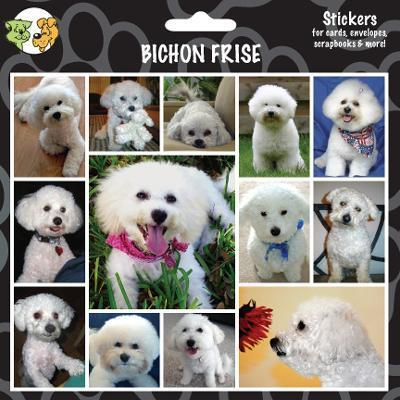Arf Art Dog Sticker Pack Bichon Frise