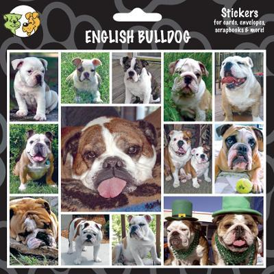 Arf Art Dog Sticker Pack English Bulldog