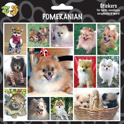 Arf Art Dog Sticker Pack Pomeranian