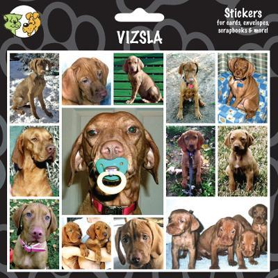 Arf Art Dog Sticker Pack Vizsla
