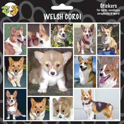 Arf Art Dog Sticker Pack Welsh Corgi