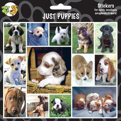 Arf Art Dog Sticker Pack Just Puppies