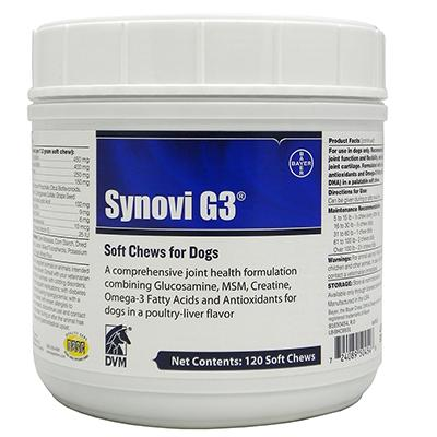 SynoviG3 Soft Chews 120Ct