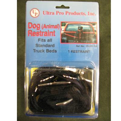 Black Nylon Truck Dog Tie Out Restraint