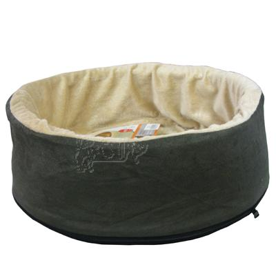 Thermo Heated Kitty Bed Mocha