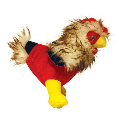 Mighty Toy Rooster - Clucky McChick Dog Toy