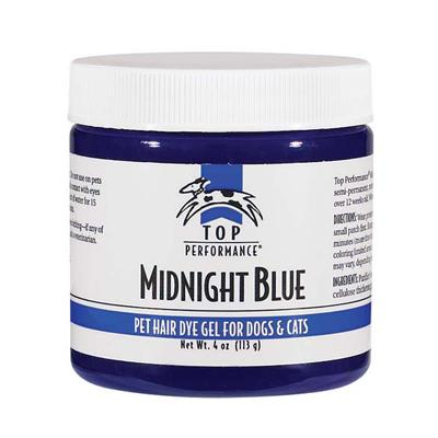 Top Performance Pet Hair Dye Gel Midnight Blue