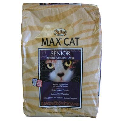 Nutro Max Cat Food Senior 16 Lb.