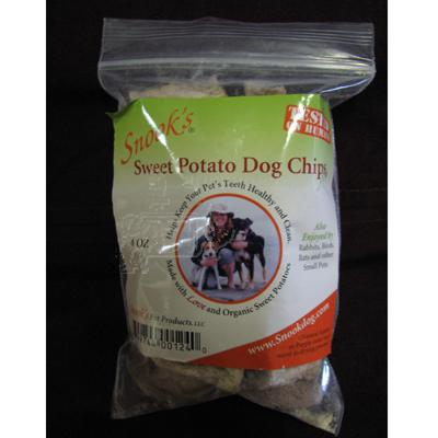 Snook's GMO-Free Sweet Potato Dog Chip 4oz Bag