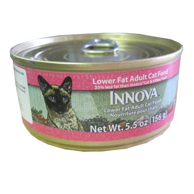 Innova Feline Reduced Canned Cat Food 5.5 ounce each.