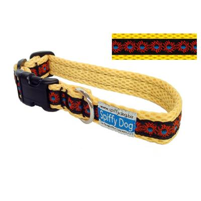 Spiffy Dog Medium Yellow Sunfire Air Collar for Dogs